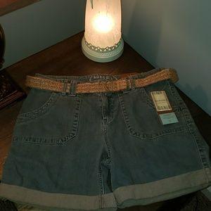 New Sonoma Denim Modern Fit Low-Rise Shorts